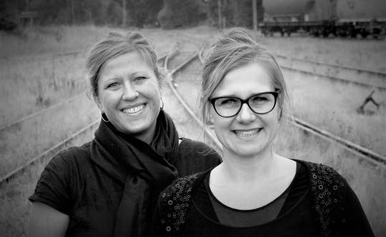 Marianne Neerholt og Mette Stoffer