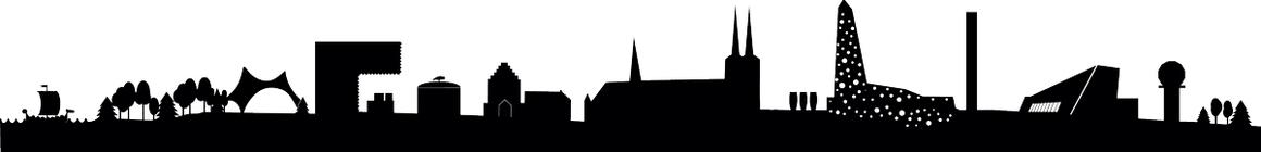 Roskilde Skyline