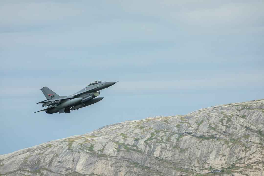 Jagerfly F-16. Foto: Forsvaret