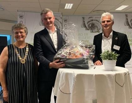 Berendsen, modtager af Glx Erhvervspris 2019