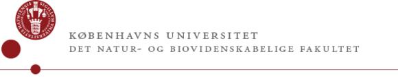 Det Natur- og Biovidenskabelige Fakultet - Københavns Universitet