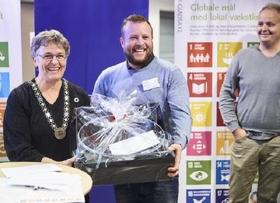 Mark Hermann Chocolate modtager erhvervsprisen 2018