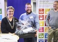 Vinderen af Gladsaxe Erhvervspris 2018 var chokoladeiværksætter Mark Hermann Chocolate