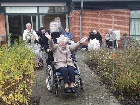 Indvielse af Vejle Kommunes første sansehave, Bakkeager