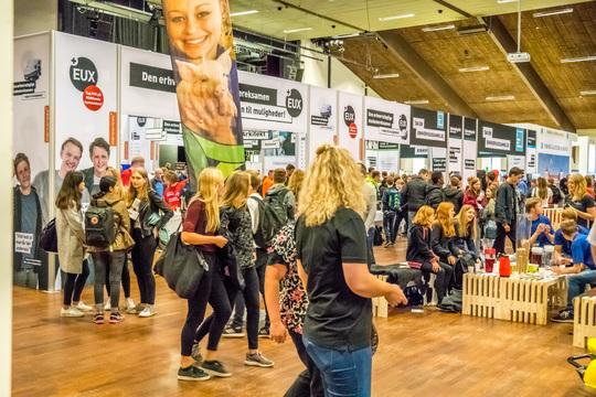 Viborg Kommunes uddannelsesmesse suppleres nu af en erhvervsmesse