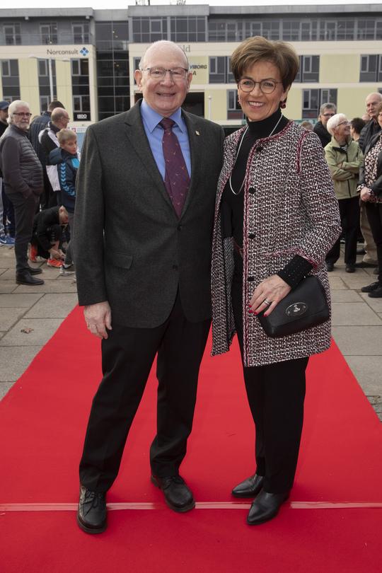 Niels og Minna Due Jensen. Foto Flemming Jeppesen.