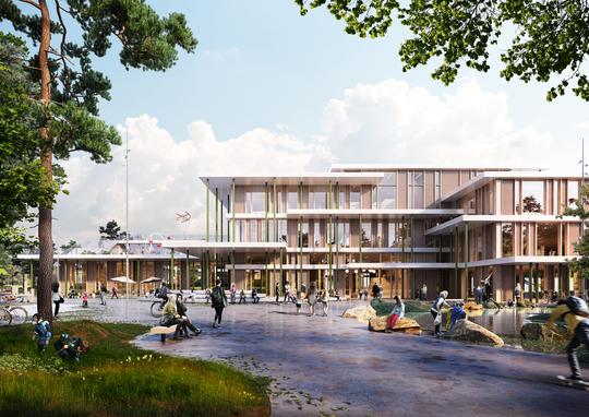 05a369cdd40 Fremtidens skole og hal bygges i Viborg Kommune