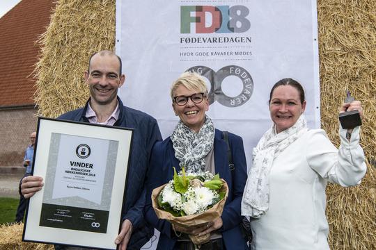 Byens Køkken, som leverer mad til de ældre i Odense Kommune, har vundet prisen De Økologiske Køkkenroser