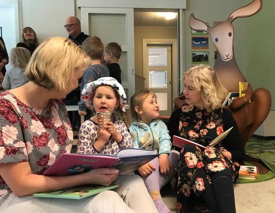Kængurubiblioteker i Odenses børnehuse