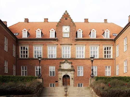 Den smukke bygning, som tidligere husede Vestre Landsret, bliver Viborgs nye bymuseum. / Foto: Nyt Viborg Museum