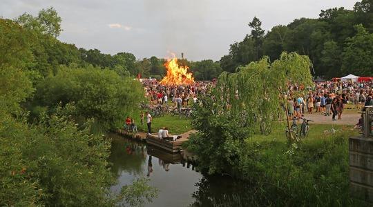 Sankthans på Engen 2018