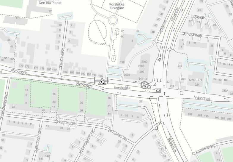 Fjernvarmearbejde giver omkørsel på Nyborgvej i fire nætter.