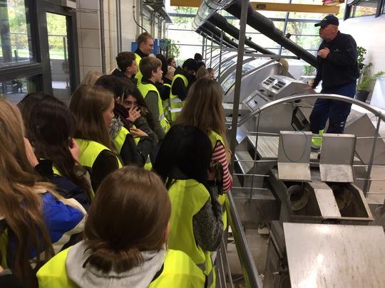 Skoleelever hjælper lokale virksomheder med bæredygtighed. Foto: Ung Odense