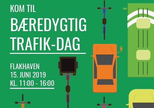 Infografik for Bæredygtig Trafik-dag 2019