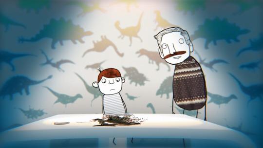Stillbillede fra filmen Ordblindhed - sammen kæmper vi for dine drømme