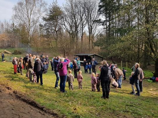 Børneskoven i Vborg er allerede i brug. Den 6. september indvies den officielt.