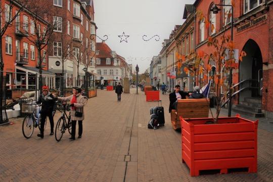 TimberNest og plantekasser i Kongensgade Nord
