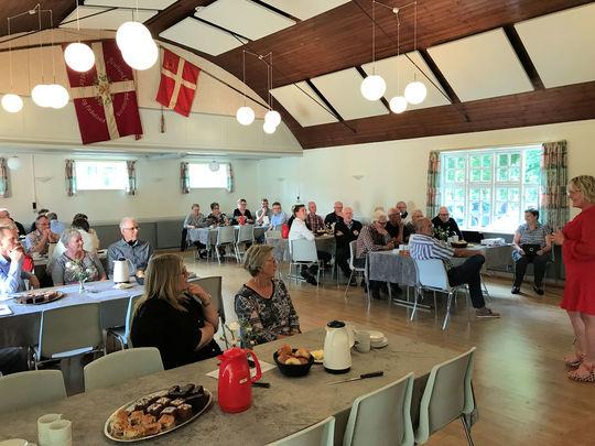 Landdistriktsudvalget mødte på borgermødet i Romlund forsamlingshus også borgere fra Knudby og Kirkebæk.  / Foto: Viborg Kommune