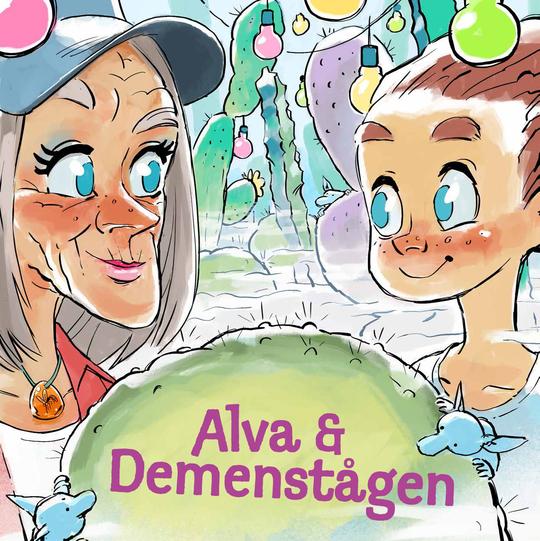 'Alva og demenstågen' forklarer på de fire til 10-åriges præmisser, hvordan hjernen og psyken forandres med demens
