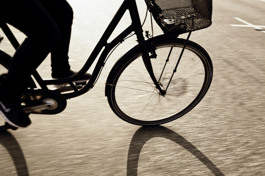 Odense cykler til arbejde