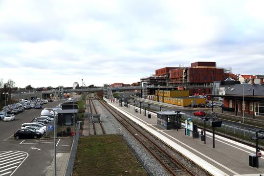Hærvejsbroen i Viborg Baneby. Foto: Viborg Kommune.
