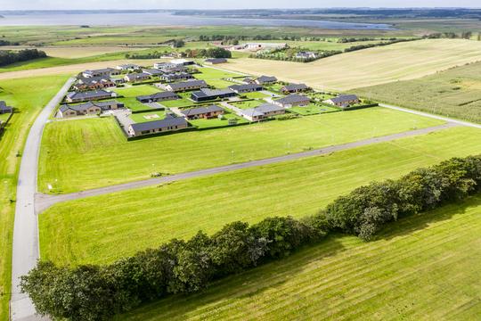 Nørreballe i Skals er et af de steder, hvor Viborg Kommune har byggegrunde til salg. Foto: Earvox