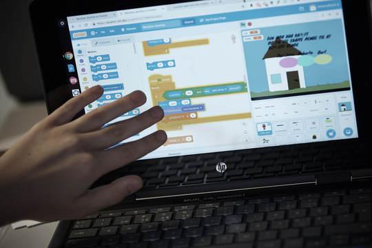 Alle børn kan nu kod ei det digitale sprog scratch
