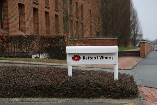 Det er Vestre Landsret, som udtrækker lægdommere til retssagerne, men oftest vil lægdommerne skulle møde her i retten i Viborg. / Foto: Viborg Kommune