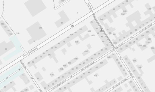 Odinsgade lukkes ud mod Vestre Stationsvej i tre dage
