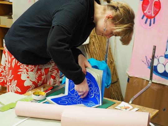 Kulturskoleelev Julie Hvass, BGK / Billedkunst og Design