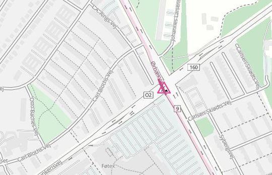 Den vestlige del af Munkerisvej spærres i to nætter i krydset ved Ørbækvej