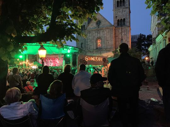 Viborgs historiske domkirkekvarter og den tilbagevendende festival, Snapsting, kombinerer to populære publikumsmagneter.  / Foto: Mikkel Kjeldsen